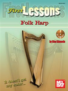 Easy Celtic Harp Solos Book Cover