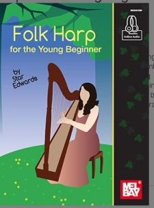 Folk Harp for the Young Beginner book